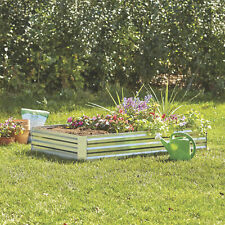 Galvanized Steel Raised Garden Planter Bed - 6ft. x 3ft.