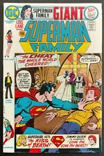 SUPERMAN FAMILY #172 SHARP VF--1975 68 BIG PGS! SUPERGIRL,JIMMY AND LOIS LANE!