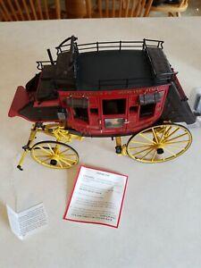 Franklin Mint 1:16 - Wells Fargo Overland Stage Coach (B11XK59)