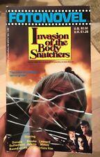 Invasion of the Body Snatchers (1979, Paperback Fotonovel) MINT