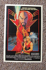 Flash Gordon Lobby Card Movie Poster Sam J Jones Melody Anderson Music By QUEEN