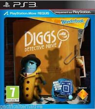 Jeu WONDERBOOK DIGGS DETECTIVE PRIVE PS3 playstation 3 francais spiel juego NEUF