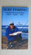 Surf Fishing - Catching Fish From the Beach WHEN WHERE HOW by Joe Malat pb book