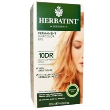 Herbatint Permanent Gel 10DR Light Copperish Gold 4.56 fl oz