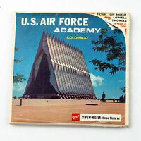 Vintage View-Master Reels Packet Set A326 U.S. AIR FORCE ACADEMY Colorado
