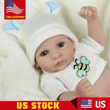 "10"" Reborn Doll Vinyl Gift Baby Dolls Lifelike Baby Newborn Handmade Realistic"