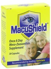 Macushield Capsules - Pack of 30 FREE NEXT DAY DELIVERY BRAND NEW