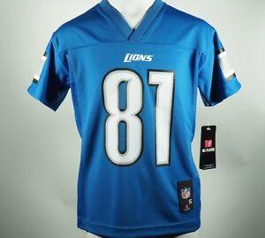 New Calvin Johnson Detroit Lions #81 Official Youth Kids Unisex NFL Jersey