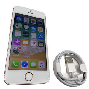 Apple iPhone SE - 16GB - Rose Gold (Unlocked) A1723 (CDMA + GSM) Canadian #9377