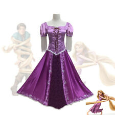 Party Cosplay Purple Tangled Princess Fancy Dress Rapunzel Costume for Women