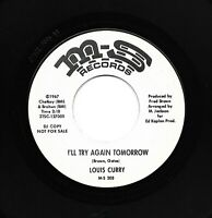Northern Soul 45 - Louis Curry - I´ll Try Again Tomorrow - MS RECORDS - original