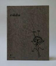 Revue edda - n° 1 été 1958 - LACOMBLEZ WOLS WIFREDO LAM SEUPHOR