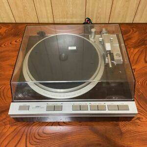 Denon DP-47F Turntable Direct Drive Turntable Used Very Good from Japan F/S