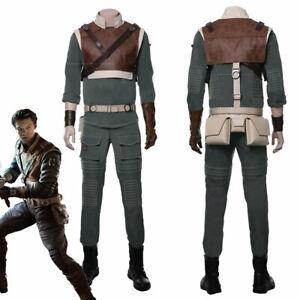Star Wars Jedi: Fallen Order Cal Kestis Cosplay Costume Suit Outfit Full Set