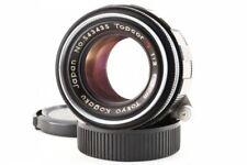 Topcor S 5cm 50mm F/2 Lens Tokyo Kogaku Leica Screw LTM L39 from Japan Exc++
