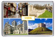 York Yorkshire England Fridge Magnet 01