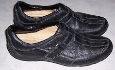 NATURALIZER N5 Comfort Sedwick Black Leather Loafer Womens Shoes Size 8M EUC