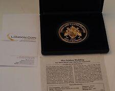 Turks & Caicos Islands Proof Coin 100 Crowns Coin Golden Wedding - Elizabeth II