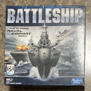 Hasbro BATTLESHIP The Classic Naval Combat Strategy Board Game  2012 Pre Owned