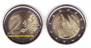 Spanien 2 Euro Gedenkmünze  2012 - Burgos - unc.