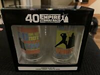 Star Wars The Empire Strikes Back 40th Anniversary Drinking Glasses Set NIB