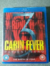* Blu-Ray Film NEW SEALED * CABIN FEVER 3 PATIENT ZERO * Blu Ray Movie * PS3