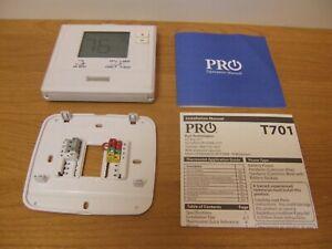 T721 Pro Thermostat Digital Non-Programmable White