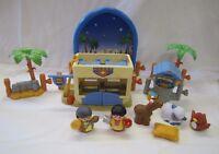 Fisher Price Little People CHRISTMAS NATIVITY THE INN AT BETHLEHEM KEEPER Rare!