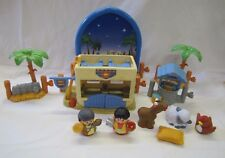 Fisher Price Little People CHRISTMAS NATIVITY THE INN AT BETHLEHEM KEEPER Rare!