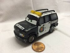 Disney Pixar Cars Toy Retired Richard Clayton Kensington Piston Cup Security SUV