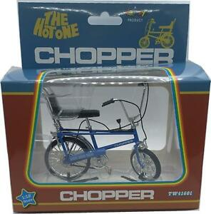 Chopper mk1 Classic 1970's Bicycle in blue 1:12 scale model from Toyway