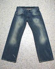 G-Star S.C.Radar Low Loose Embro Jeans Hose W32 L32 Raw Denim C827