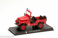 Coche Bomberos Diecast 1971 JEEP WILLYS M38 A1 1:32 Delprado  - Feuerwehr CBO122