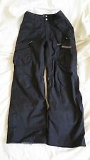 Burton Formula XS XSmall Women's Snowboard Ski Pants Dark Gray Nylon