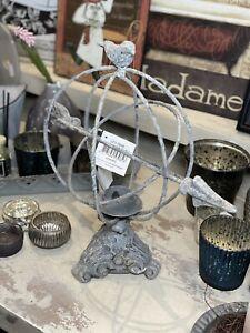 Deko Paket 10 Teile Kerzenhalter Barock Vase Landhaus Shabby French Chic