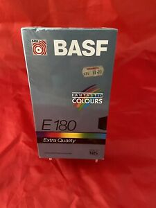 Brand New Factory Sealed, BASF E-18 VHS Tape