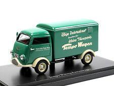 """AutoCult 08003 1953 Tempo Wiking 1 """"Fischmaul"""" Kastenwagen Lieferwagen 1/43"""