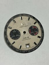 Vintage Certina DS2 Chronograph Chronolympic Dial for Valjoux 234 movement