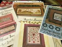 CS301, Carriage House Samplings, Cross stitch sampler charts, your choice,
