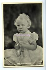 r2706 - Todddler Princess Anne plays with Bell Toy, by Marcus Adams - postcard