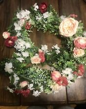 Wedding Flower Garland and Greenery Garlands (Lot of Three)