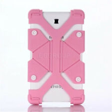 "Pink For RCA Voyager III 7"" RCT6973W43 2017 Tablet Shockproof Silicone Cover"