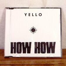 RARE PROMO Yello How How CD Maxi Single UK press ELECTRO POP Dieter Meier M-