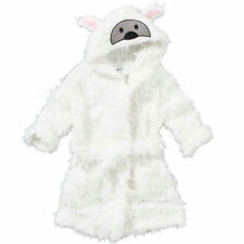 Girls Boys Childrens Animal Novelty Fleece Dressing Gown/Robe Age 6 - 11 Years