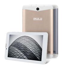 iRULU Phablet 7 Zoll Tablet PC 16GB Android 7.0 Quad Core 3G WiFi GPS Dual SIM