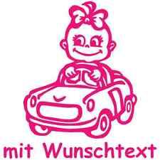 BABYAUFKLEBER Autoaufkleber Baby-Motive Kinder Auto-Aufkleber II 47