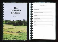THE LECKMELM EVICTIONS Elly Williamson Signed Scotland Highland Resistance 1879