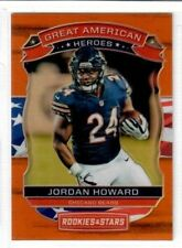 JORDAN HOWARD 2018 Rookies & Stars OPTICHROME ORANGE GREAT AMERICAN HEROES 10/35
