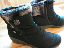 M/&S Thinsulate Waterproof Faux Fur Lace-up Ankle Boots Insolia Flex