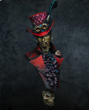 1/9 Steampunk Gothic BUST Resin Figure Model Kit Unassambled Unpainted